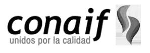 Logotipo Conaif Transparente