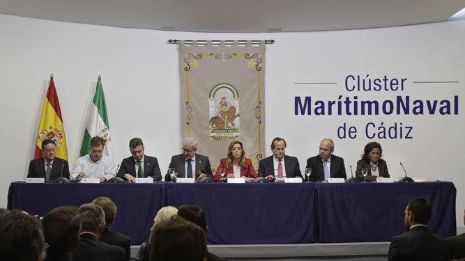 Constitución del Clúster Marítimo Naval de Cádiz