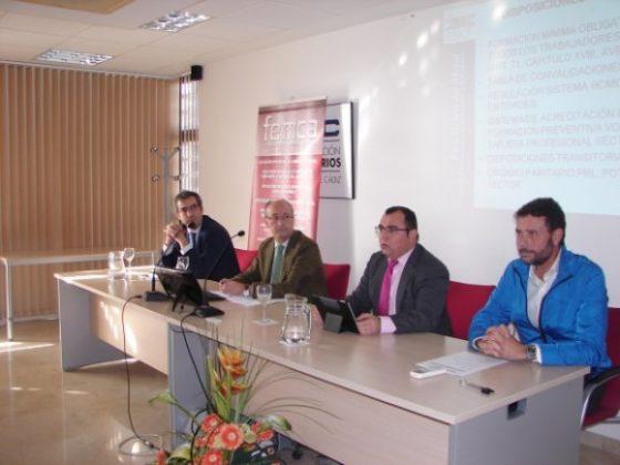 Jornada de Formación PRL - FEMCA Cádiz