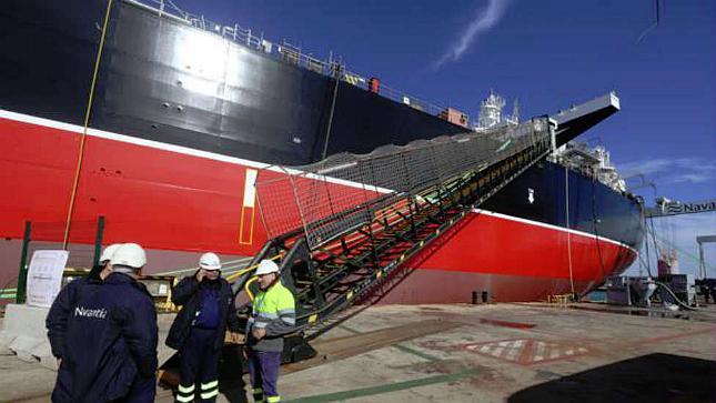 Navantia Puerto Real se prepara para decir adiós al último petrolero