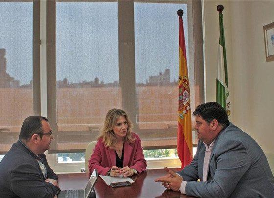 Reunión con Ana Mestre - FEMCA Cádiz