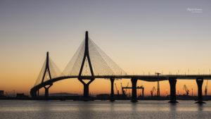 Atardecer en el Puente de la Constitución de 1812